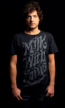 Milk with Knives T-shirt Black image